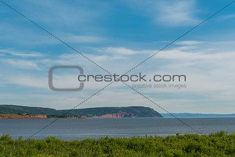 Blomidon cliffs