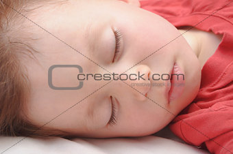 Boy sleeping 3 years old