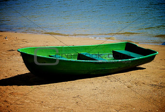 Old Lonely Boat