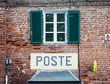 Italian postal office