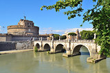 Rome. Sant'Angelo Bridge