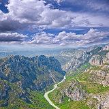Verdon gorge. Provence. France.