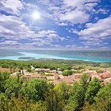 Landscape of Provence.