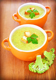 Vegetarian cream soup