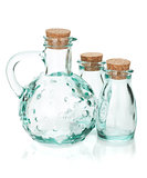 Glass bottles for seasoning