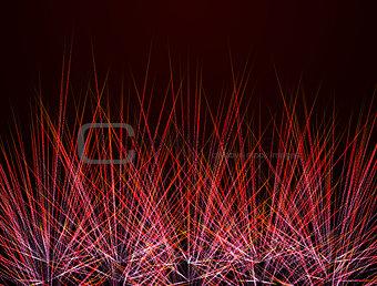 fireworks on background