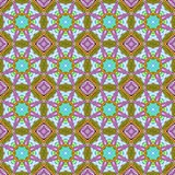 Decorative seamless pattern with flowers