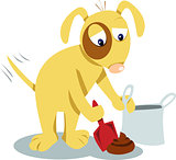 Even dogs know you have to clean it up!