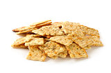 Herb seasoned crackers