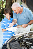Auto Repair - Helping Dad