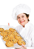 Baker with Cookies