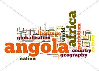 Angola word cloud