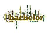 Bachelor word cloud