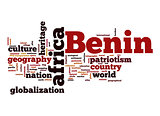 Benin word cloud