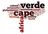 Cape Verde word cloud