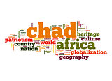 Chad word cloud