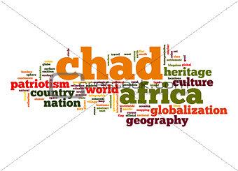 Chad word cloud