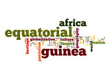 Equatorial Guinea word cloud
