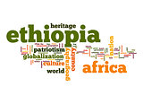 Ethiopia word cloud