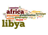 Libya word cloud