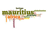 Mauritius word cloud