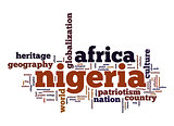 Nigeria word cloud