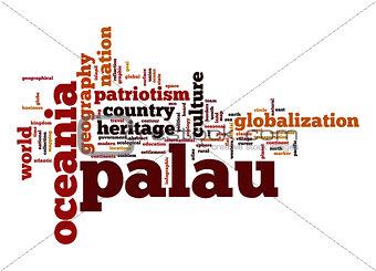 Palau word cloud