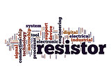 Resistor word cloud