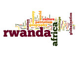 Rwanda word cloud