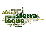 Sierra Leone word cloud