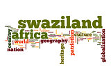 Swaziland word cloud