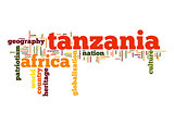 Tanzania word cloud