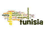 Tunisia word cloud