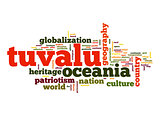 Tuvalu word cloud