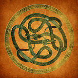 Serpent Celtic Knot