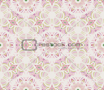 Abstract seamless retro pattern