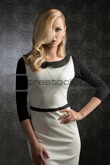 aristocratic fashion girl