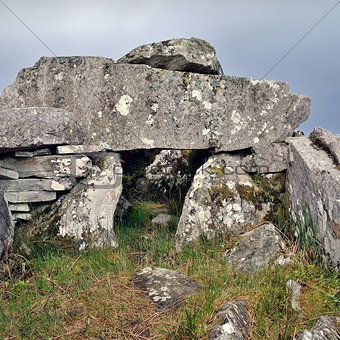 Cloghanmore is a megalithic chamber tomb