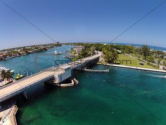 Coastal waterways in South Florida