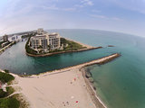 Coastal inlet in Boca Raton, Florida