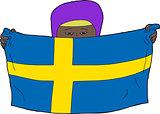Swedish Muslim Child