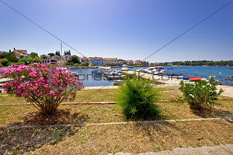 Adriatic town of Petrcane waterfront