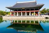 Gyeongbokgung palace. Seoul, South Korea.