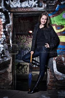 beautiful urban girl