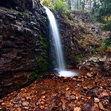 Lower Memorial Falls in Montana