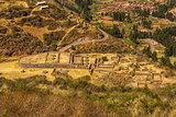 Sinkunakancha Tipon ruins Cuzco Peru