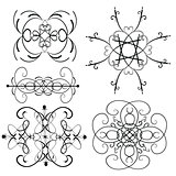 Vector Ornament Set 6