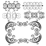 Vector Ornament Set 7