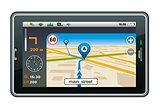 GPS navigator.
