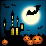 Halloween Scenery.